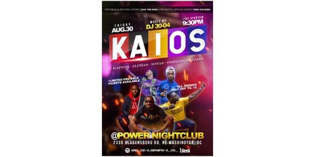 Kaios Party tickets