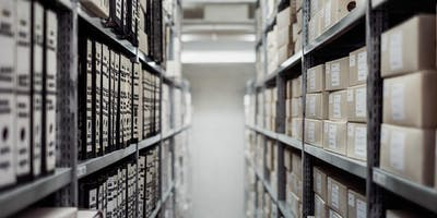 ReadFest 2019: Poetry in the Archives with Anna Robinson