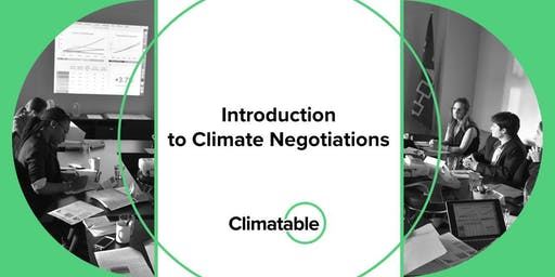 Introduction to Climate Change Negotiations