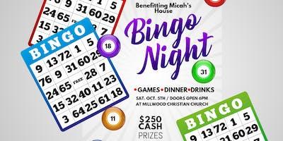 Bingo Night benefitting Micah's House