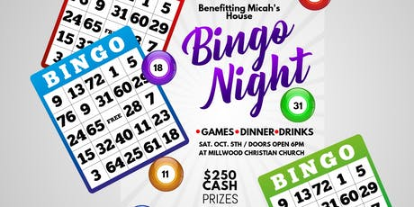 Bingo Night benefiting Micah's House tickets
