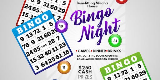 Bingo Night benefiting Micah's House