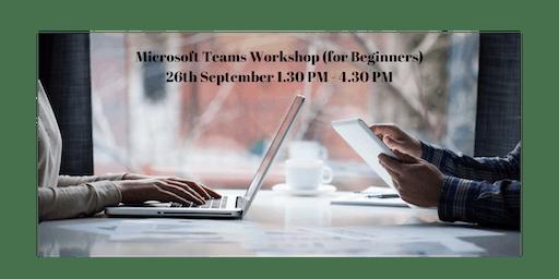 Microsoft Teams Workshop (for Beginners)
