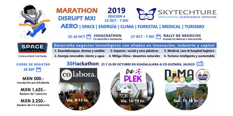 SkyTech 30Hackathon : AERO space energía clima forestal medical turismo tickets