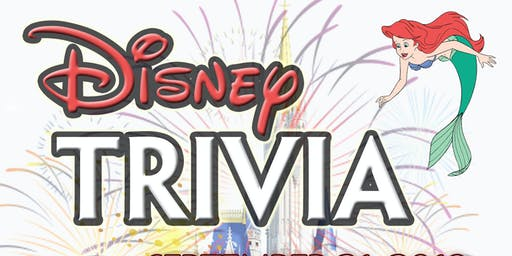 Disney Trivia/SOLD OUT