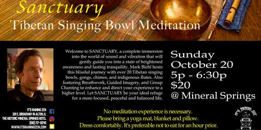 Sanctuary Tibetan Singing Bowl Meditation