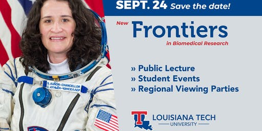 New Frontiers presents: NASA Astronaut Dr. Serena Auñón-Chancellor