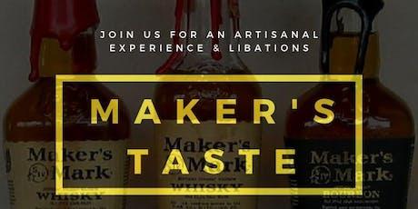 Maker's Taste: Leather tickets