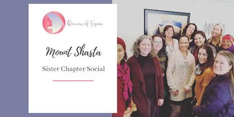 Women of Vision Mount Shasta Social tickets