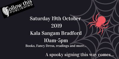 Halloween Book Event/signing