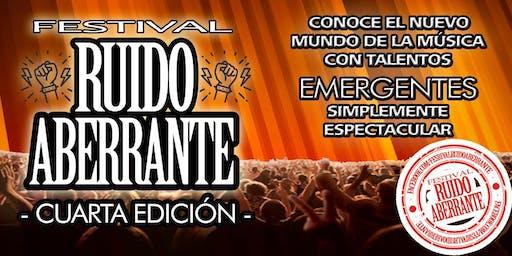 Festival Ruido Aberrante 4ta Edición