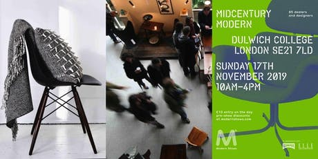 Midcentury Modern® Vintage & Contemporary Interior Show  tickets