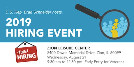 Zion Job Fair tickets