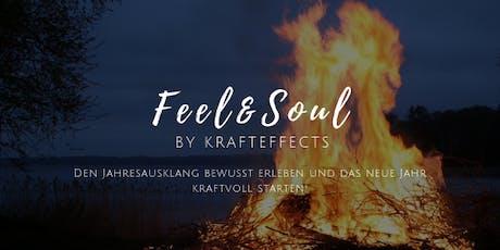 Krafteffects Reise-   Feel&Soul -  Jahresausklang und Neustart 2020 Tickets