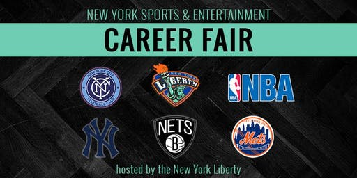 New York Sports & Entertainment Career Fair (hosted by the NY Liberty)