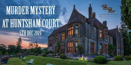 Deadly Diamonds Murder Mystery at Huntsham Court tickets