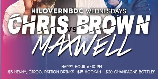 #IloveRnBDC Wednesdays $5 Henny, Patron, Ciroc & Jameson Drinks