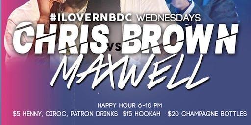 #IloveRnBDC Wednesdays $5 Henny, Patron, Ciroc & Jameson Drinks
