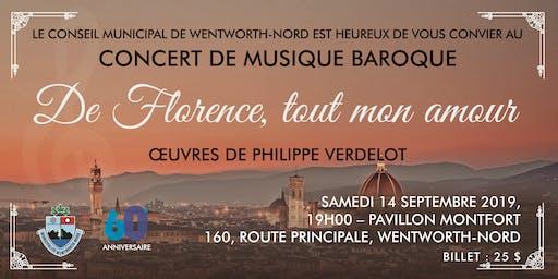 Concert de  musique BAROQUE -  De Florence, tout mon amour !