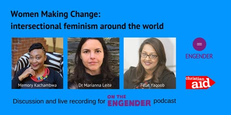 Women Making Change: intersectional feminism around the world tickets