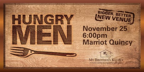 9th Annual HUNGRY MEN DINNER tickets