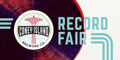 Coney Island Brewery Record Fair!  tickets
