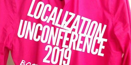 Localization Unconference Boston 2019 tickets