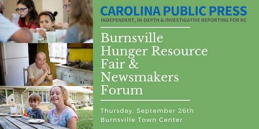 Burnsville Hunger Resource Fair & Newsmakers Forum
