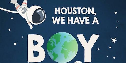 Houston We Have A Boy - Baby Sprinkle for Kim Mazur-Lesard