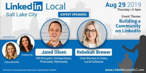 LinkedIn Local Salt Lake City - Aug 29th