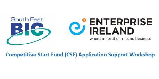 CSF Application Support Workshop - 24th September 2019