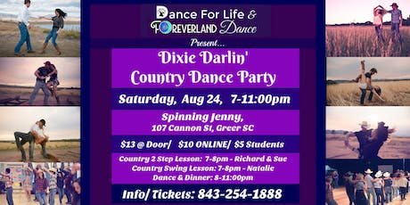 Dixie Darlin' Country Dance tickets