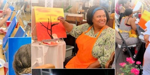 Home.stead Bakery & Cafe Paint and Sip with Modern Party Art