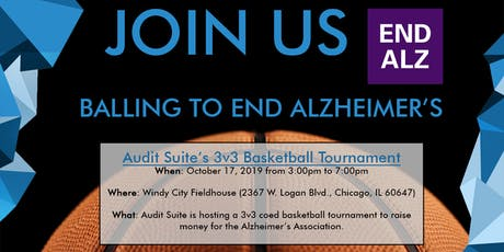 Audit Suite's 3v3 Basketball Tournament tickets