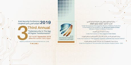 Arab Security Conference 2019 tickets