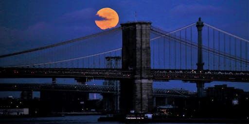 NYC Wild! Essentials: Full Moon South Street Seaport/Brooklyn Bridge Photography Walk