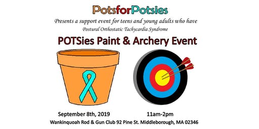 POTSies Paint and Archery Event