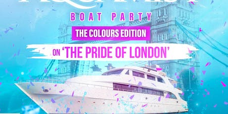 GOODFELLAZ PR PRESENTS THE AQUAMIST BOAT PARTY (THE COLOUR EDITION)  tickets