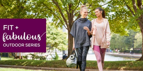 Fit + Fabulous Outdoor Series at CambridgeSide featuring FitLAB Pilates  tickets
