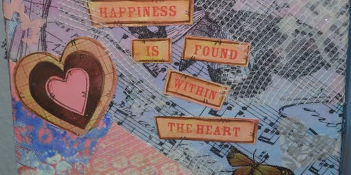 Mixed Media For Beginners - Be Inspired! Be You!