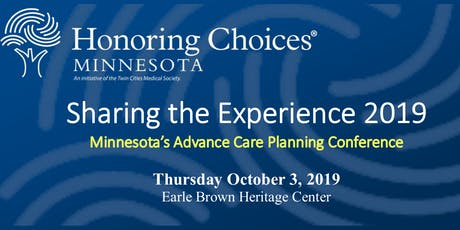 2019 Sharing the Experience Advance Care Planning Conference tickets