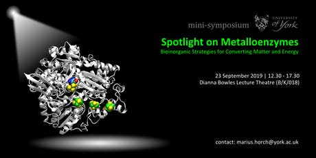 Spotlight on Metalloenzymes tickets