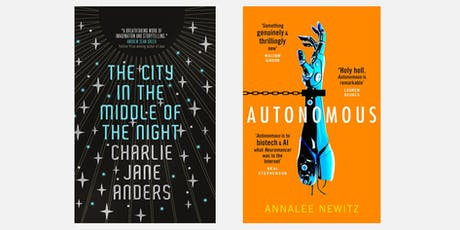 Sci Fi Sessions: Dark Societies with Annalee Newitz and Charlie Jane Anders (Gower) tickets