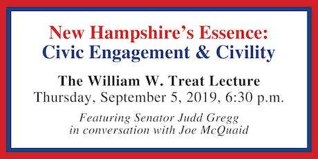 New Hampshire's Essence: Civic Engagement & Civility tickets