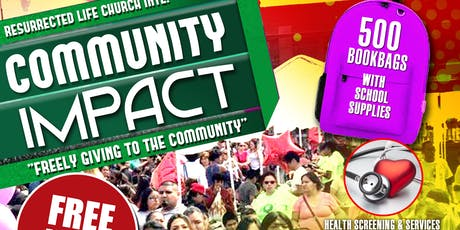 Community Impact tickets