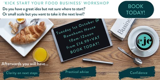 Kick Start Your Food Business Workshop