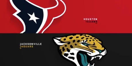 Texans vs Jaguars Tailgate with GFE Tailgaters tickets