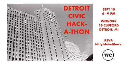 Detroit Civic Hackathon tickets