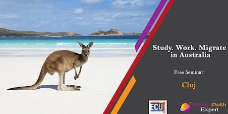 Optiuni Emigrare in Australia | Vize studii | Skilled visas | Free Seminar tickets