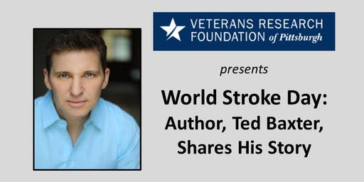 World Stroke Day: Author, Ted Baxter, shares his story.